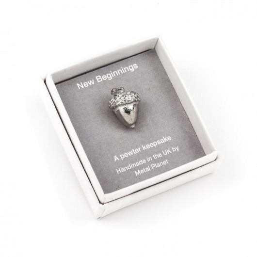 'New Beginnings' Acorn keepsake