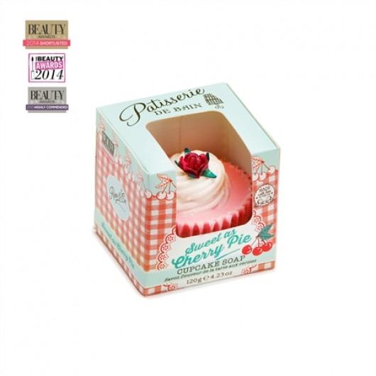 Sweet As Cherry Pie Cupcake Soap