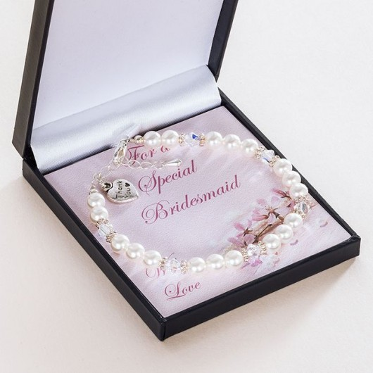 Bridesmaid / Flower Girl Thank You Bracelet