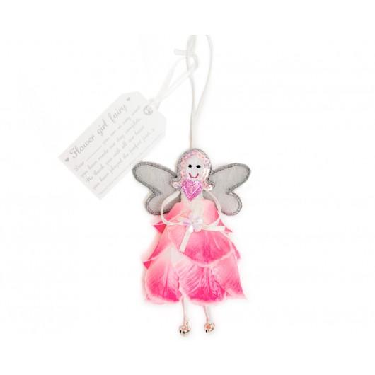 Fairy Flower Girl - Pink