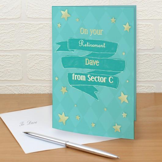 Personalised Shining Star Card