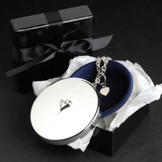 Heart Jewellery Box
