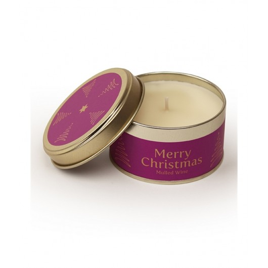 Merry Christmas - Mulled Wine Pintail Candle