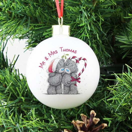 Me To You Couple Christmas Bauble