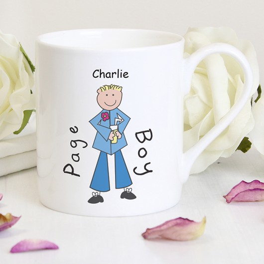 Personalised Page Boy Mug