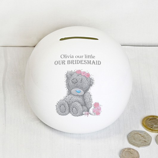 Me To You Girls Wedding Money Box