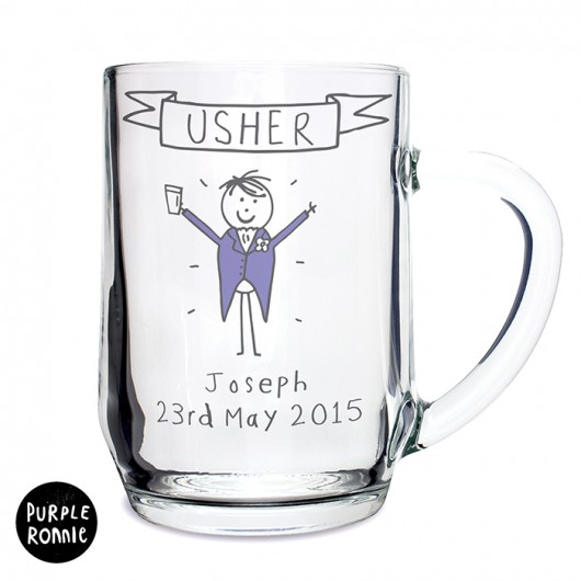 Purple Ronnie Generic Male Wedding Tankard