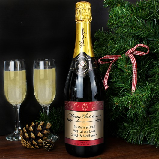 Snowflakes Champagne