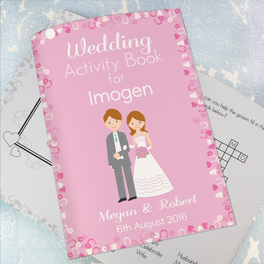 Wedding Activity Book for Girls - Personalised