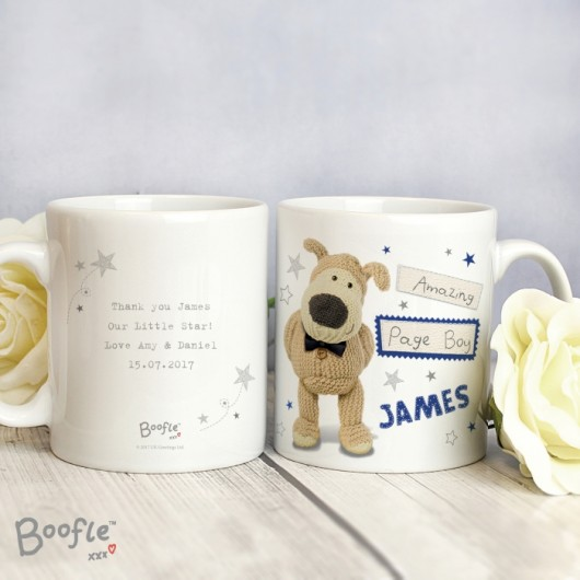 Boofle Personalised Male Wedding Mug