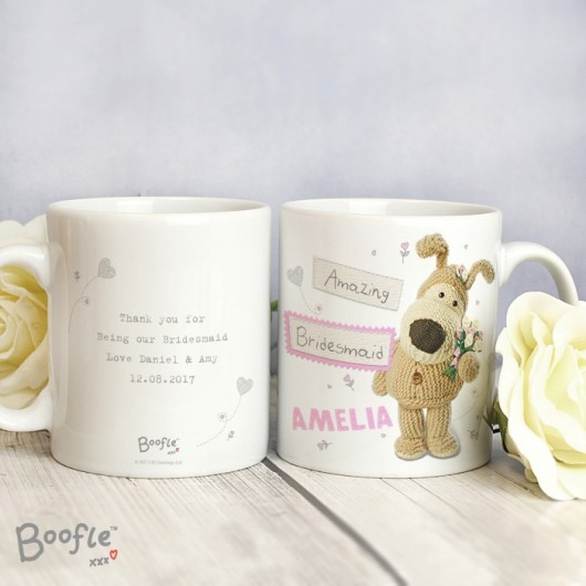 Boofle Personalised Female Wedding Mug