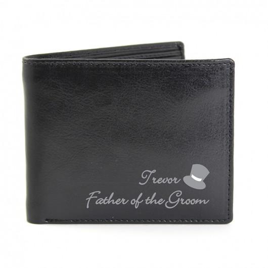 Personalised Top Hat Wallet