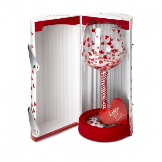 Superbling Wine Glass - Red Hot