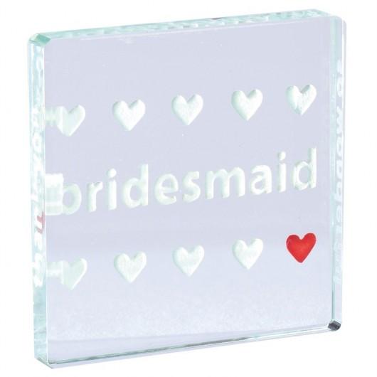 Bridesmaid Mini Token by Spaceform