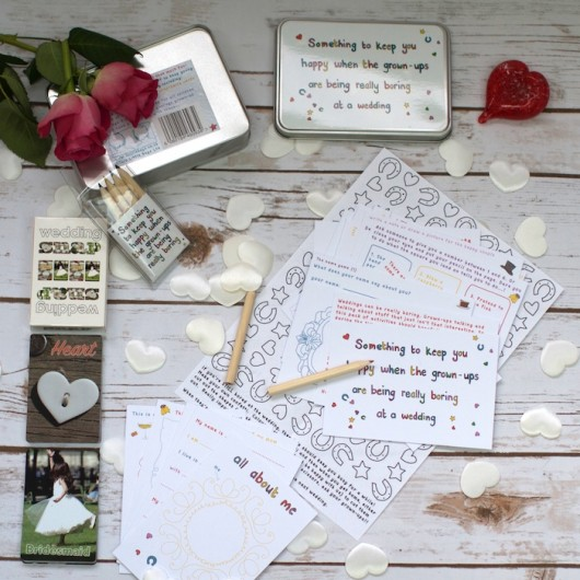 Wedding Activity Set For Children