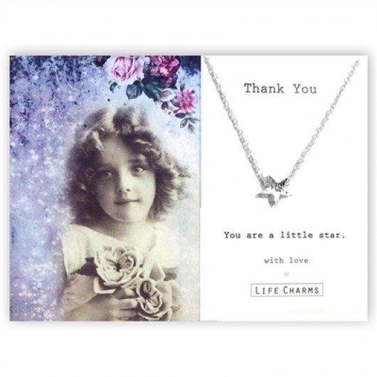 You Are A Little Star Thank You Necklace