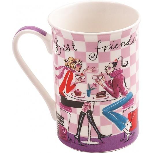 Totally Chic Best Friends Mug
