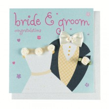 Bride & Groom Card