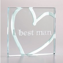 Best Man Mini Token by Spaceform