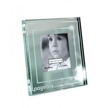 Classic Stripe Mini Mirror 'Pageboy' Photo Frame