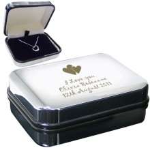 Heart Necklace & Personalised Box