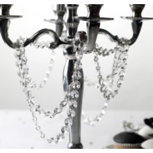 Crystal Garland - Clear - 1 Meter