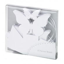 Something in the Air Favour Boxes - White