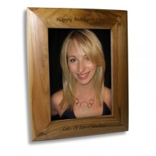 "Personalised 5 x 7"" Oak Frame"