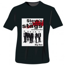 Personalised Reservoir Stags T-Shirt - Black