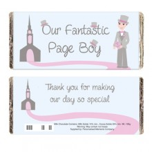 Fabulous Page Boy Chocolate Bar