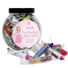 Fabulous Flower Girl Sweetie Jar