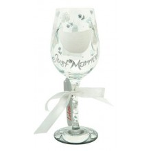 Lolita Personalize It Wine Glass, Just Married
