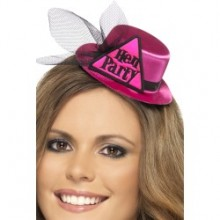 Pink Hen Party Hat
