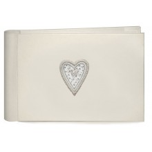Beaded Heart Pocket Photo Album