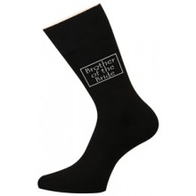 Wedding Socks - Brother of the Bride