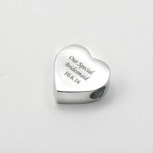 Engraved Charm Bead