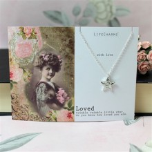 Twinkle Little Star Loved Necklace by Life Charms