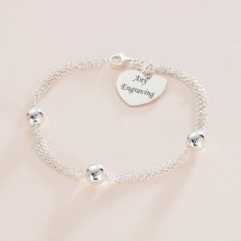 Sterling Silver Bracelet With Engraving