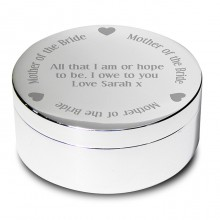 Mother of the Bride Personalised Trinket