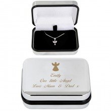 Angel Necklace & Personalised Box