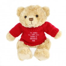 Red Jumper Teddy Bear