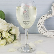 Me To You Wedding Wine Glass