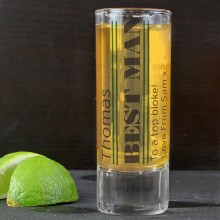 Personalised Male Shot Glass