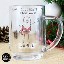 Purple Ronnie Santa Tankard