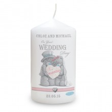 Me To You Wedding Couple Candle
