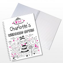 Wedding Personalise A5 Notebook