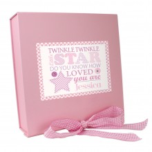 Personalised Pink Gift Box