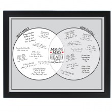 Mr & Mrs Framed Guest Book