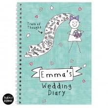 Purple Ronnie Bride Wedding Diary