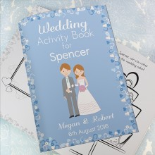 Wedding Activity Book for Boys - Personalised